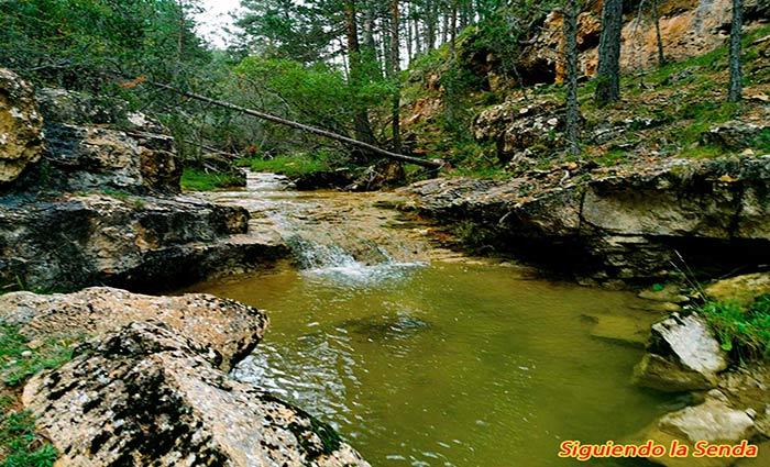 Barranco en la ruta de los canos de gudar