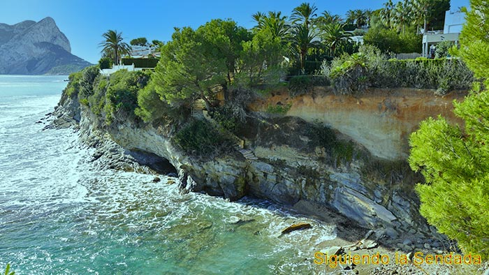 Cala del Marroqui, el Paseo Ecológico de Benissa