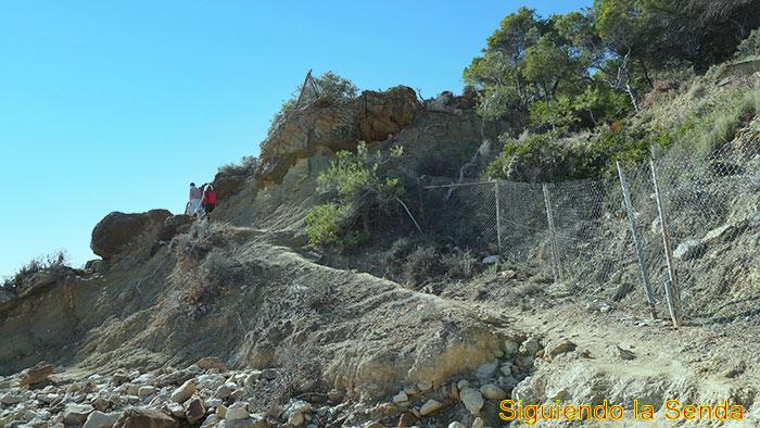 Cala Pinets, el Paseo Ecológico de Benissa