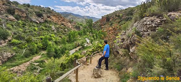Ruta del Agua entre Calles y la Playeta en Chelva