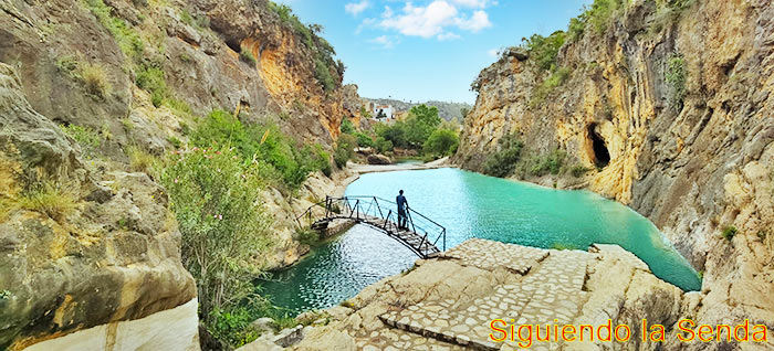 Bolbaite, Paraje del río Sellent - Salto de Chella