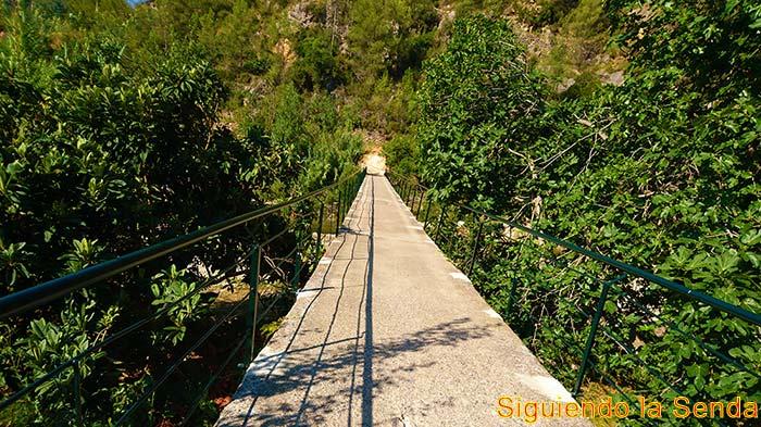 Ruta del río Villahermosa hasta el pozo Negro en Ludiente