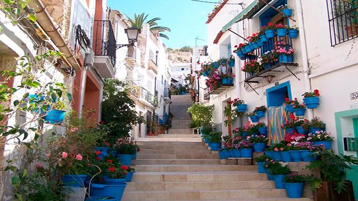 Donde alojarse en Sevilla, barrio de Santa Cruz.