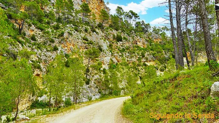 Ruta del río Fraile en Bicorp