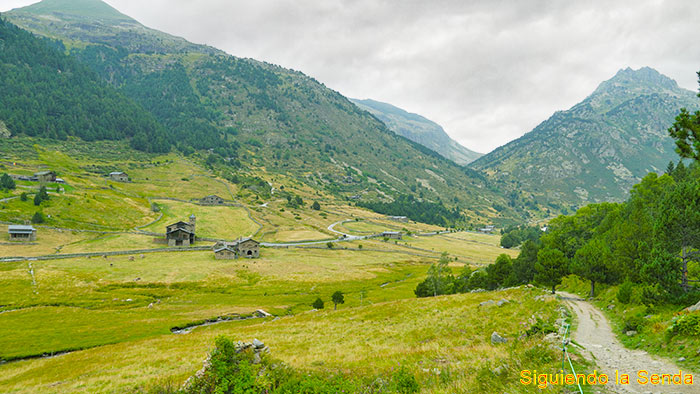 Valle de Incles, Cami de l'obac, Canillo