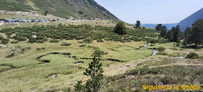 El valle y los lagos de Gerber